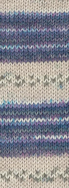 5145 | blau lila beige