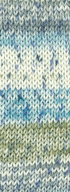 3353 | blau grün creme