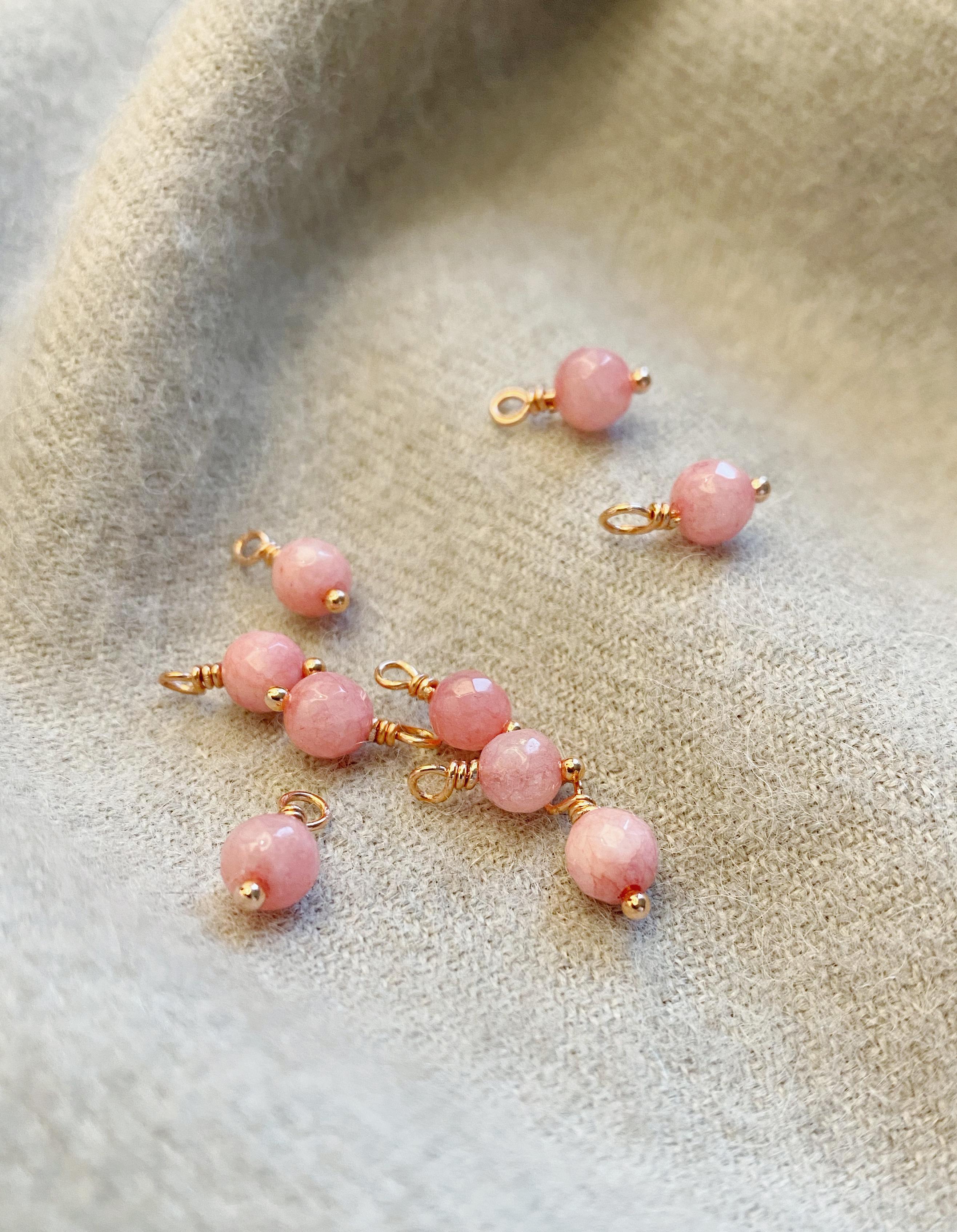 Anhänger |rosa opal