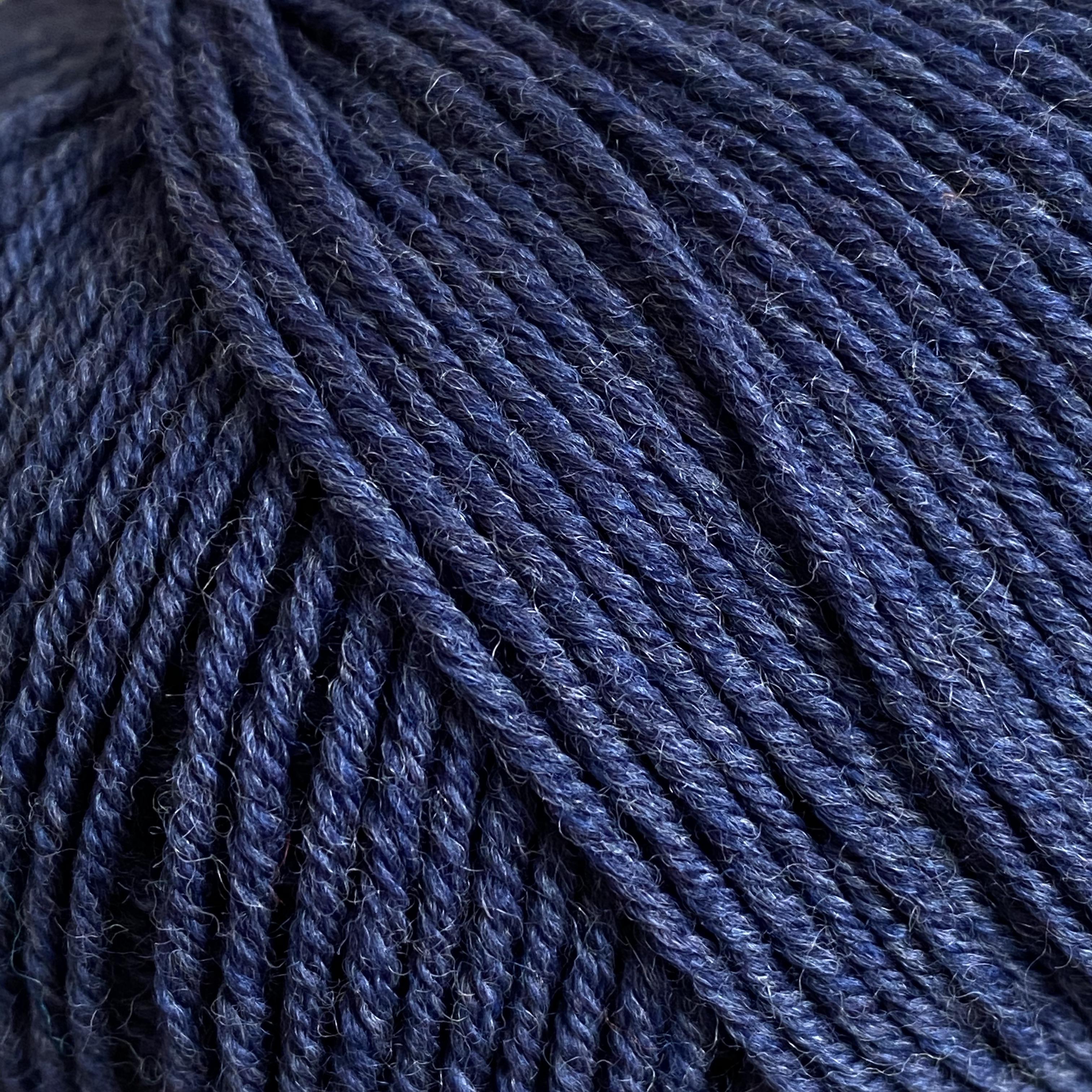 12 |dunkelblau meliert